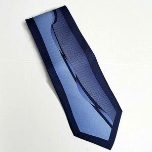 Enrico Guccini Silk Blue Tie